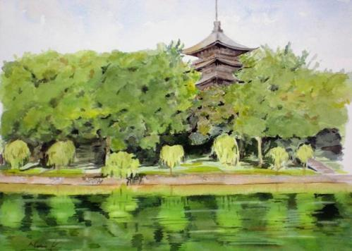 興福寺 五重の塔