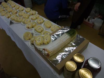 白ネギロールケーキ