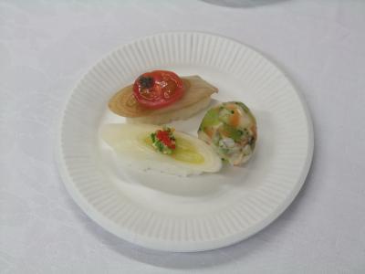 白ネギ寿司