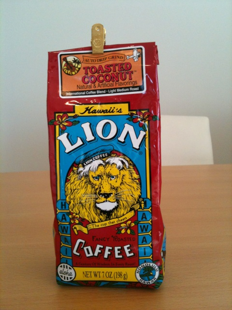 ライオンコーヒー ココナッツ