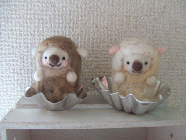 ひつじ&アルミカップ