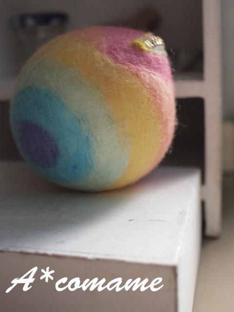 虹色ポーチ