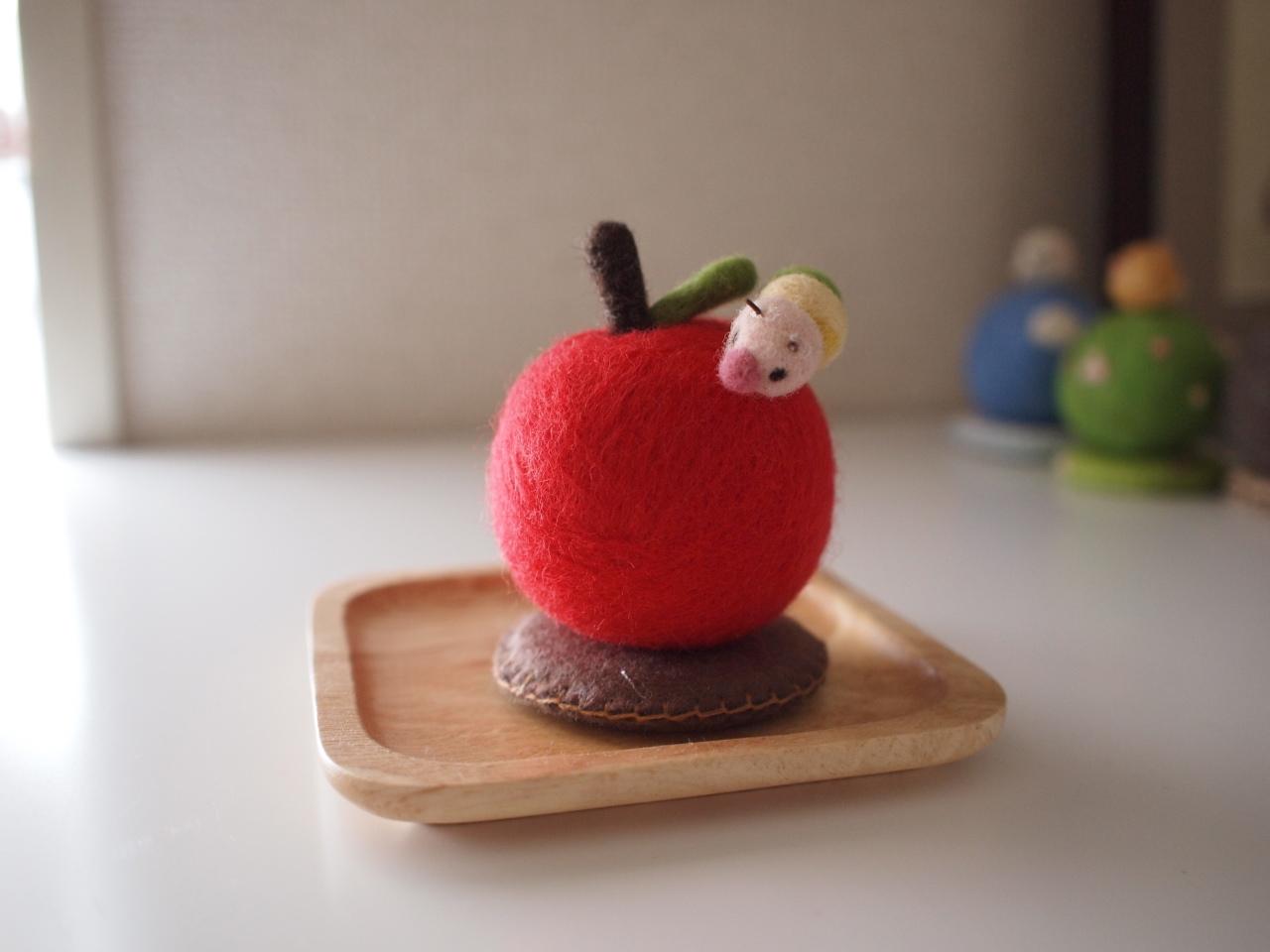りんごピンクッション