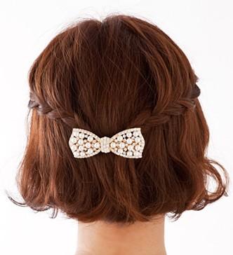 2013春の結婚式・披露宴お呼ばれ髪型・ヘアスタイル