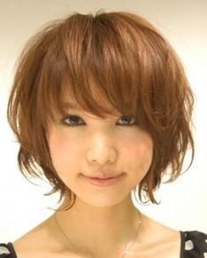 真木よう子さん風マッシュボブヘアスタイル