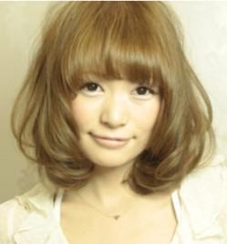 水川あさみ髪型画像