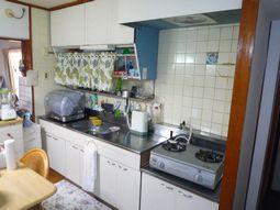 I様邸 旧キッチン