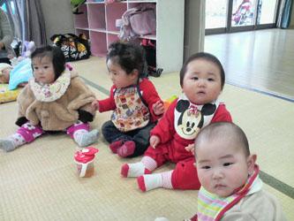 女の子4人