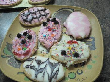 クッキーできあがり