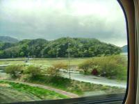 GW新幹線から見る景色