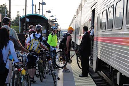 Caltrain bike2