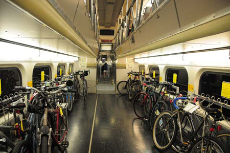 Caltrain bike