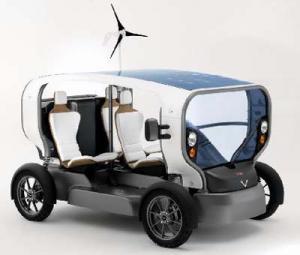 電気太陽風力自動車(フランス)