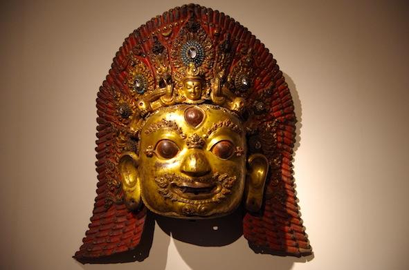 チベットお面