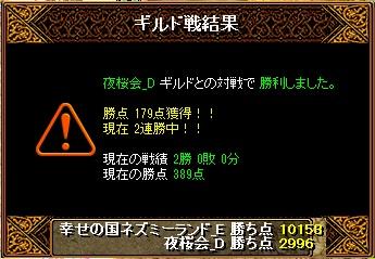 13.3.5夜桜会様 結果