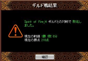 13.3.24Spirit of Fire様 結果
