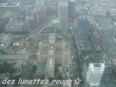 89階からの眺め:台北101