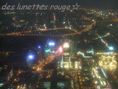 89階からの夜景①:台北101