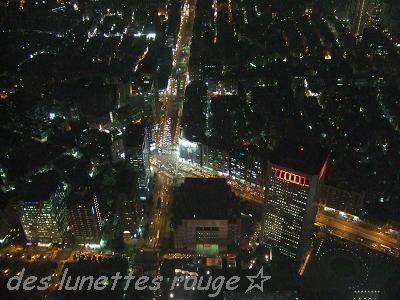 89階からの夜景②:台北101