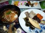 簡単にお雑煮、お煮しめ、練り物、煮物で2010年の初詣へ