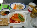 2009/8/3昼食 JL8877便(羽田-上海)にて