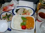 2009/10/14昼食 JL8877便(羽田-上海)にて
