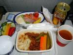 2009/10/28昼食 JL8878便(上海-羽田)にて