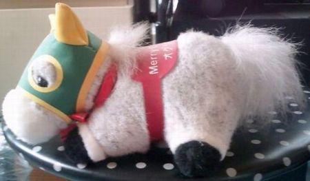 第34回有馬記念優勝馬オグリーキヤップです。
