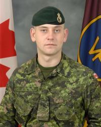 Master Corporal Joshua Brian Roberts