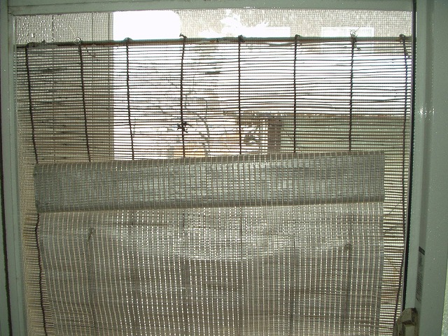 続ー風呂場の窓目隠し現状-9雪景色