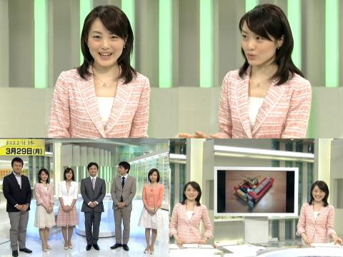 江崎史恵 おはよう日本に登場
