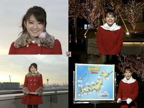 長野美郷 & 美馬 怜子 赤いコートの女