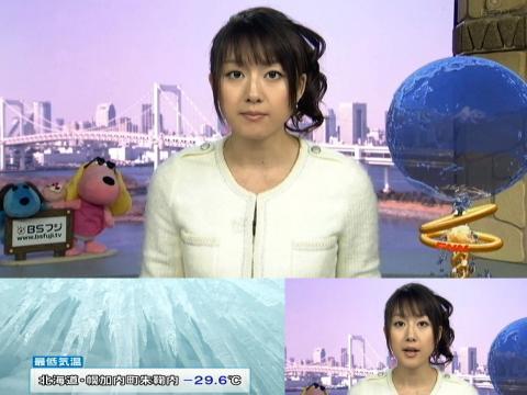 大島由香里 北海道?29,6℃