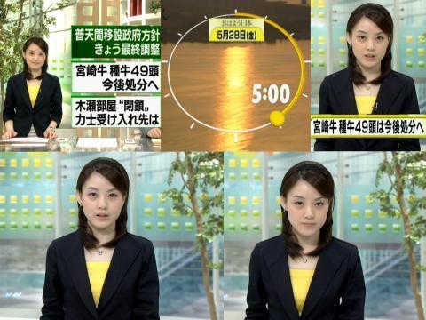 江崎史恵 おはよう日本 5.28