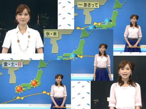 山本志織 週間天気 6.27