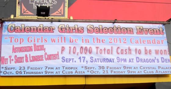 calendar girl12 schedule