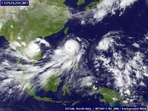 Typhoon Pedring092711