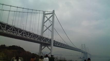 与島から瀬戸大橋を