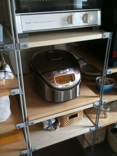 無印良品のIHジャー炊飯器
