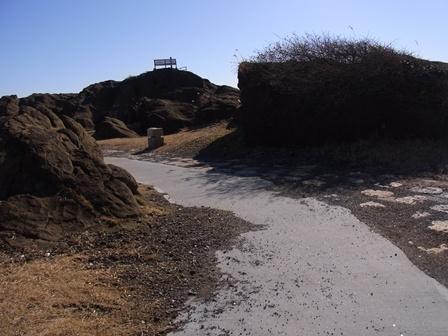 房総半島最南端の岬