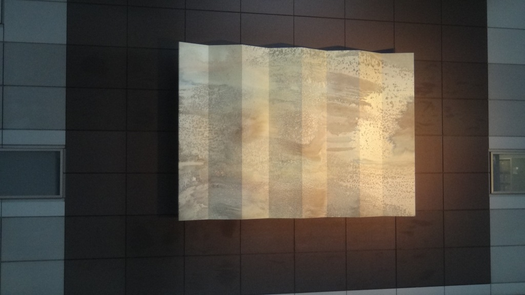 羽田空港・壁画2