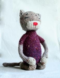 編み猫母2