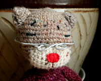 編み猫 母