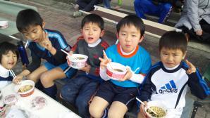【2012年度】 青葉FC初蹴り@すすき野小学校/少年サッカー