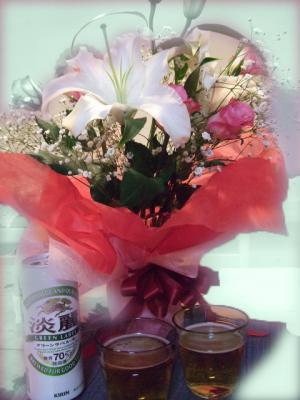 100220結婚式の花束