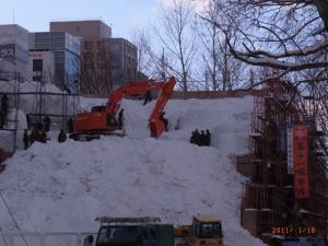 110119雪像製作