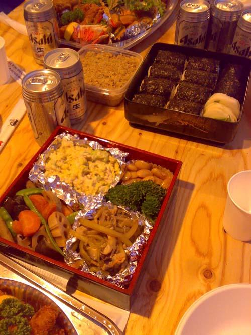 EX多摩上棟式のお食事
