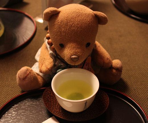 お茶をどうぞ