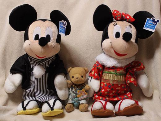 初詣ミッキー&ミニー