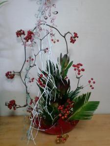 2010・11・30クリスマス花・家用